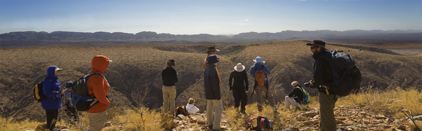 Walk the Larapinta Trail in the Australian outback